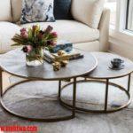 أجمل تصميمات طاولات القهوة