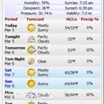 برنامج WeatherMate
