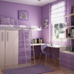 صور غرف نوم بنات باللون الفوشيا
