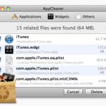برنامج AppCleaner