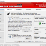برنامج USB Threat Defender