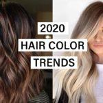 اللوان شعر موضة 2020